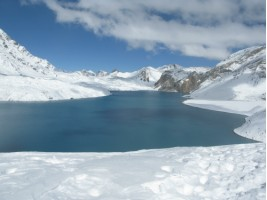 Lake Tilicho so beautiful
