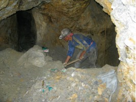 The miners' tough conditions